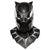 Black Panther Mask Men's Overhead Latex Costume Accessory