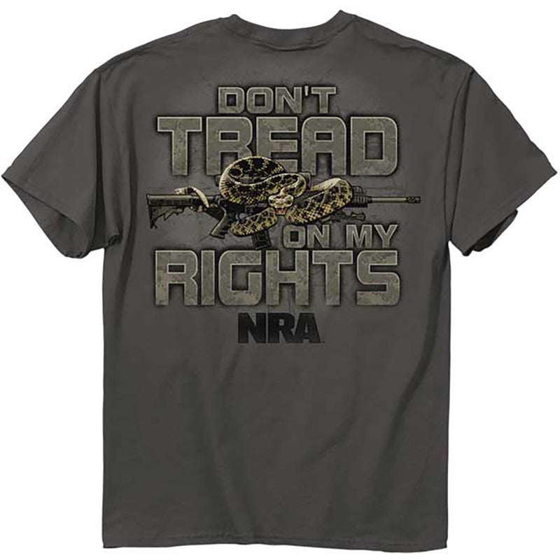 NRA Hat Dont Tread On My Rights Snake National Rifle Association Adjustable Cap