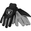 Oakland Raiders NFL Team Adult Size Utility Work Gloves-Cyberteez