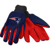 New England Patriots NFL Team Adult Size Utility Work Gloves-Cyberteez