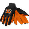 Cincinnati Bengals NFL Team Adult Size Utility Work Gloves-Cyberteez