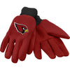 Arizona Cardinals NFL Team Adult Size Utility Work Gloves-Cyberteez