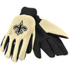 New Orleans Saints NFL Team Adult Size Utility Work Gloves-Cyberteez