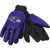 Baltimore Ravens NFL Team Adult Size Utility Work Gloves-Cyberteez