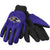 Baltimore Ravens NFL Team Adult Size Utility Work Gloves
