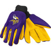 Minnesota Vikings NFL Team Adult Size Utility Work Gloves-Cyberteez