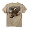 NRA Eagle 2nd Amendment Right To Bear Arms Sand T-Shirt-Cyberteez