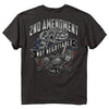 NRA Snake 2nd Amendment Not Negotiable Gray T-Shirt-Cyberteez