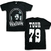 Waylon Jennings Tour 79 Photo T-Shirt-Cyberteez