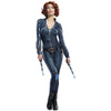 Black Widow Womens Adult Marvel Avengers Cosplay Costume-Cyberteez