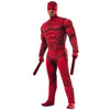 Daredevil Men's Deluxe Muscle Chest Marvel Costume-Cyberteez