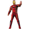 Iron Man Men's Adult Size Deluxe Muscle Chest Costume-Cyberteez