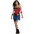 Wonder Woman Costume Dress Women's Movie Outfit