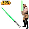 Star Wars Qui-Gon Jinn GREEN Jedi Knight Lightsaber-Cyberteez