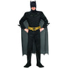 Batman Dark Knight Deluxe Men's Muscle Chest Cape Costume-Cyberteez