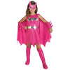 Batgirl Costume Dress PINK Girls Child Kids Youth Batman Outfit-Cyberteez