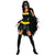 Batgirl Costume Dress w/ Cape Women's Black Batman Outfit