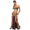 Star Wars Princess Leia Slave Outfit Womens Costume-Cyberteez