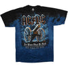 AC/DC 21 Gun Salute For Those About To Rock Tie Dye T-Shirt-Cyberteez