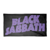 Black Sabbath Purple Logo Bath Pool Beach Towel-Cyberteez