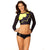 Batgirl Batman Women's Rash Guard Surf Top