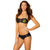 Batgirl Batman Women's Mesh Bandeau Top/Boy Shorts Bikini Swimsuit