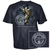 Chris Kyle Frog Foundation EMS Frog Shield Logo American Sniper T-Shirt-Cyberteez