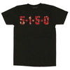 Edward Eddie Van Halen EVH 5150 Stripes T-Shirt-Cyberteez