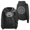Five Finger Death Punch Knuckles Zip Hoody Sweatshirt-Cyberteez