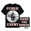 Public Enemy Fight The Power Distressed T-Shirt (S-3XL)-Cyberteez
