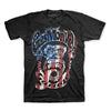 Gas Monkey Garage American USA Flag Monkee Fast N Loud T-Shirt-Cyberteez