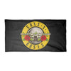 Guns N Roses Bullet Seal Logo Bath Pool Beach Towel-Cyberteez