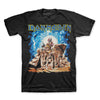 Iron Maiden Breaking Pyramids North America Tour 2012 w/ Dates T-Shirt-Cyberteez