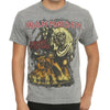 Iron Maiden Gray Number Of The Beast T-Shirt-Cyberteez