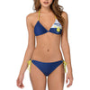 Corona Beer Logo Women's Bikini Sexy Triangle String Swimsuit-Cyberteez