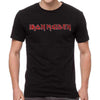Iron Maiden Logo Distressed T-Shirt-Cyberteez