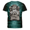 Led Zeppelin Electric Magic Tie Dye T-Shirt-Cyberteez