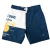 Corona Beer Board Shorts Label Logo Men's Swim Trunks-Cyberteez