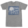 Blue Moon Beer Logo Belgian White Ale T-Shirt-Cyberteez