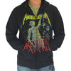 Metallica And Justice For All Zip Hoody Sweatshirt-Cyberteez