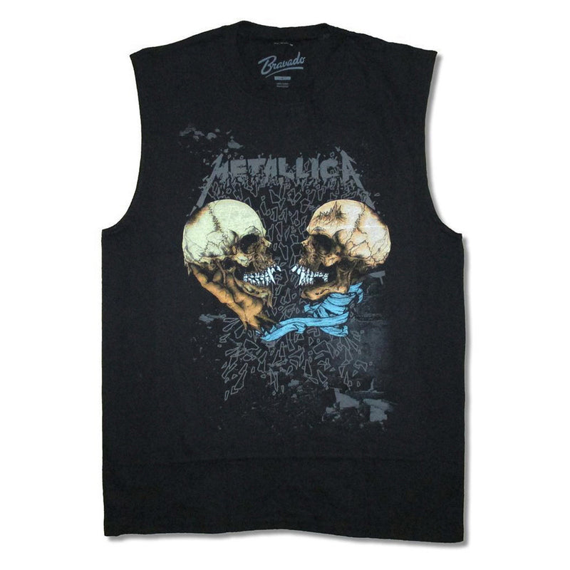 64360322 Metallica Skulls One And Justice For All Muscle Tank T-Shirt - Cyberteez