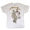 Metallica And Justice For All YOUTH Kids White T-Shirt-Cyberteez