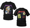 Metallica Harvester Of Sorrow Damaged Justice And Justice For All T-Shirt-Cyberteez