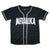 Metallica '81 Flaming Sun Logo Men's Embroidered Baseball Jersey