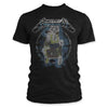 Metallica Electric Chair Vintage Distressed Ride The Lightning T-Shirt-Cyberteez