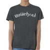 Motorhead Logo Distressed Vintage Gray T-Shirt-Cyberteez