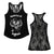 Motorhead England Lace Racer Back Women's Tank Top