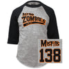 Misfits Astro Zombies We Are 138 Baseball Jersey T-Shirt-Cyberteez