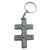Marilyn Manson Double Cross Logo Metal Keychain
