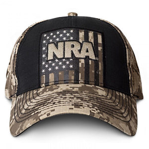 NRA National Rifle Association Digital Camo Tan Adjustable Strapback Hat  Cap-Cyberteez d21f6ec16c49